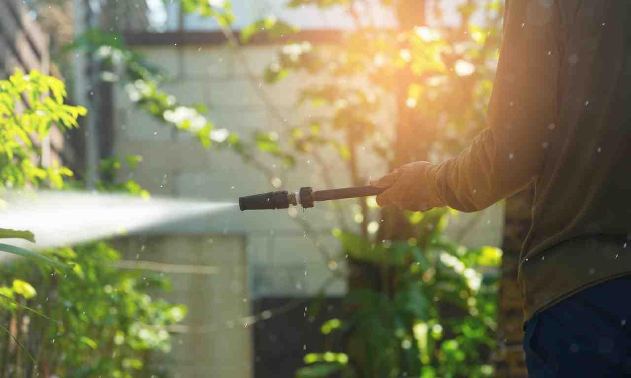 High-Pressure Water Sprayer
